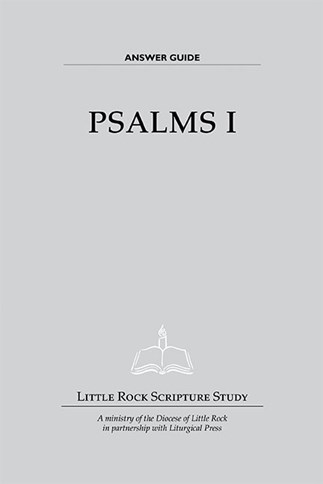 Psalms I—Answer Guide