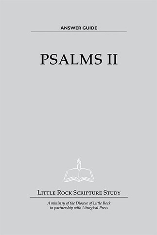 Psalms II—Answer Guide