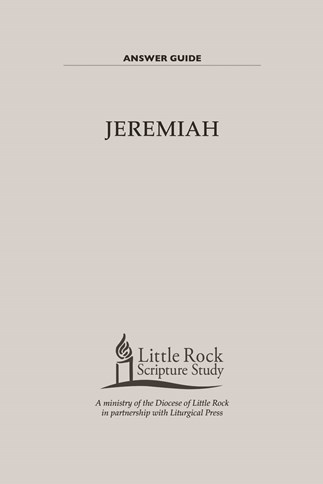 Jeremiah—Answer Guide