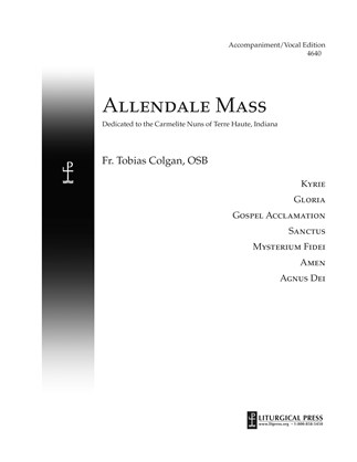 Allendale Mass, Accompaniment/Vocal Score Print Edition