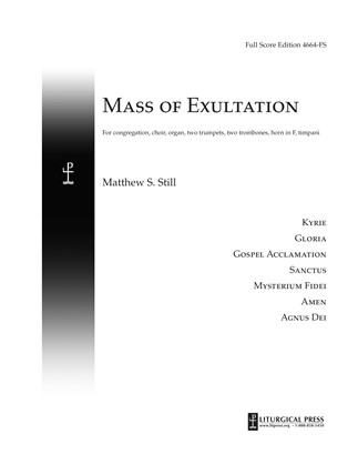 Mass of Exultation, Full Score eMusic Edition