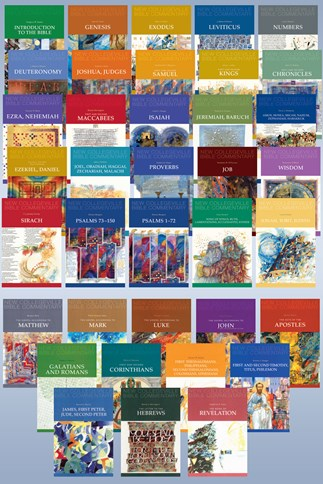 New Collegeville Bible Commentary Complete Set