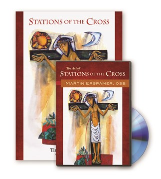 Stations of the Cross Book and CD-ROM Set
