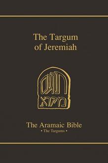 The Aramaic Bible Volume 12: The Targum of Jeremiah