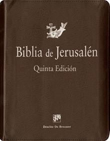 Biblia de Jerusalén 5a edición Con funda de cremallera