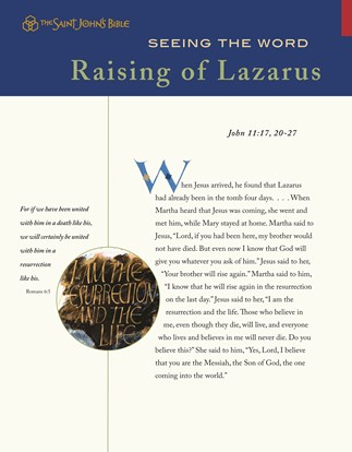 Seeing the Word: Raising of Lazarus