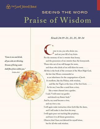 Seeing the Word: Praise of Wisdom