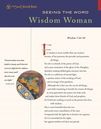 Seeing the Word: Wisdom Woman
